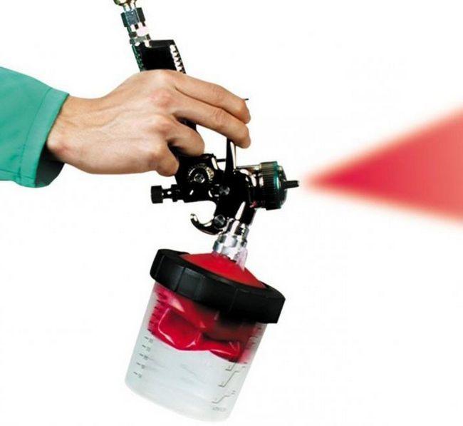 Фото - Краскопульт для компресора: вибір, характеристики, відгуки