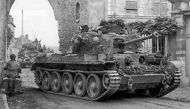 танк Кромвель фото