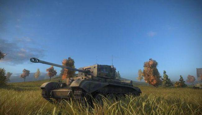 танк Кромвель в world of tanks