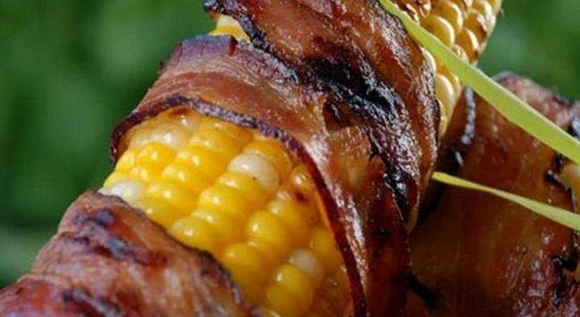 кукурудза у фользі в духовці