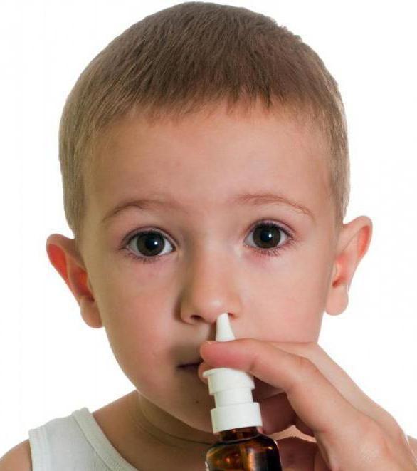 краплі при закладеності носа