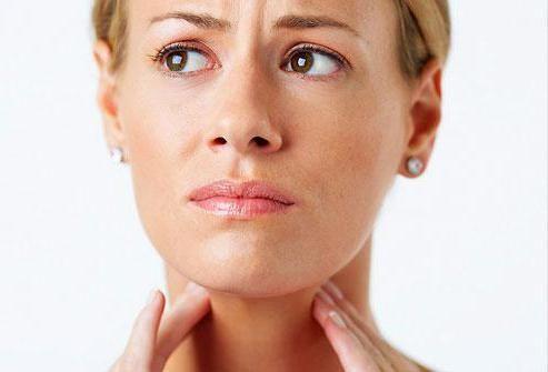 лікування горла при грудному вигодовуванні