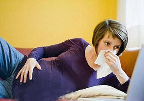 що приймати вагітним при застуді
