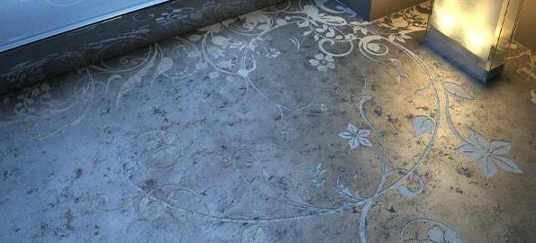 витрата фарби по бетону