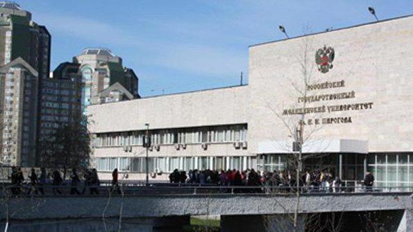 медічінскіе інститути росії список