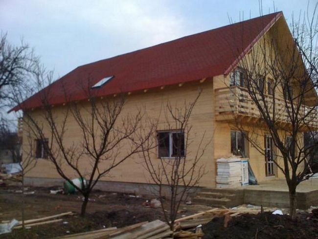 кращі проекти дерев'яного будинку