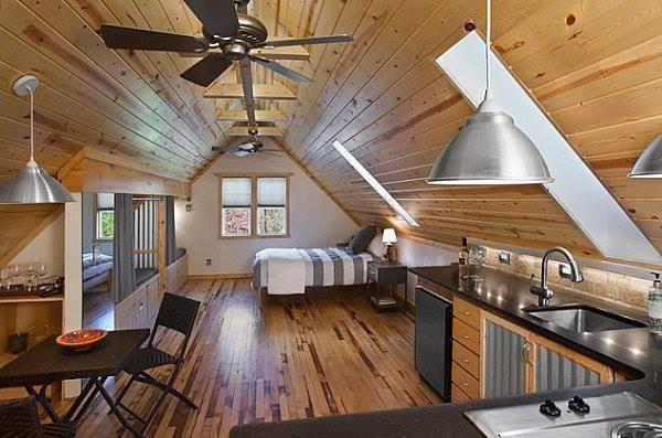 кращі проекти дерев'яних будинків з мансардою