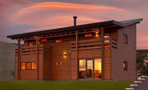 кращі проекти дерев'яних будинків