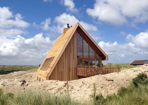 кращі проекти дерев'яних будинків і котеджів