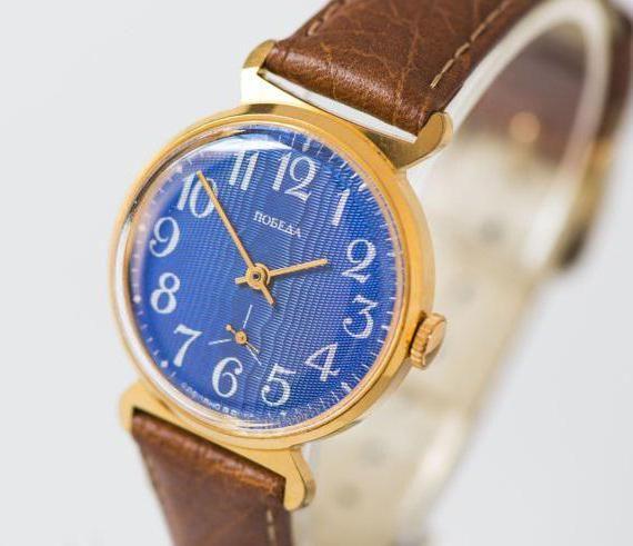наручний годинник російських виробників