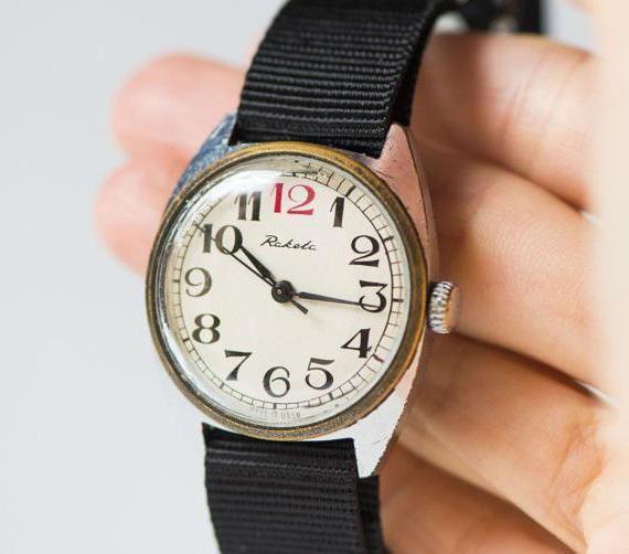 золотий годинник російський виробник