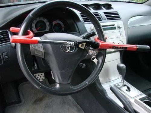 саморобні протиугінні пристрої для автомобілів