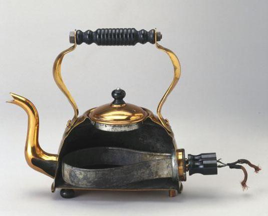 Чайник керамічний електричний фото