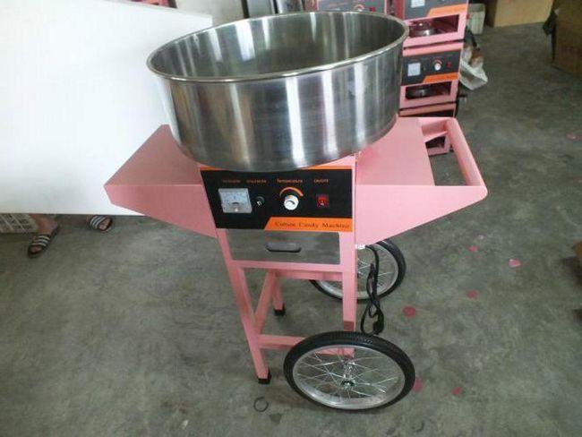 Машина для приготування цукрової вати