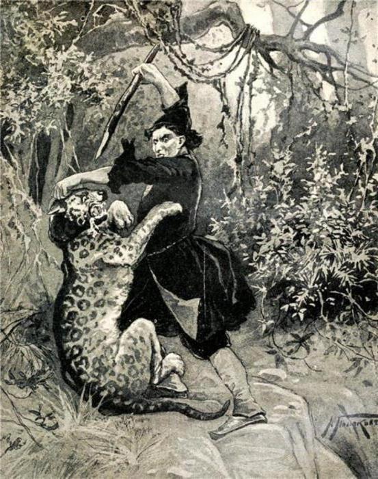 образ Мцирі як романтичний герой