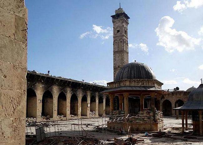 велика мечеть Омейядів у Дамаску