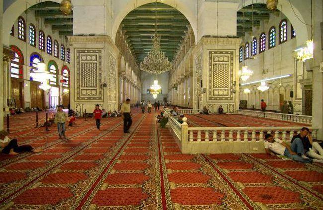 Велика Мечеть дамаск сирія