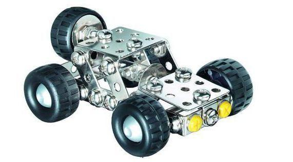 металевий конструктор для дитини