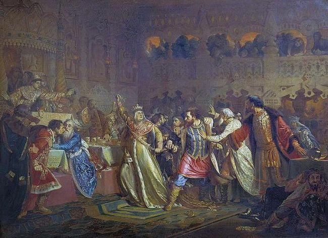 Фото - Міжусобна війна руських князів: опис, причини та наслідки. Початок міжусобної війни в Московському князівстві