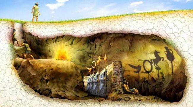міф про печеру платона