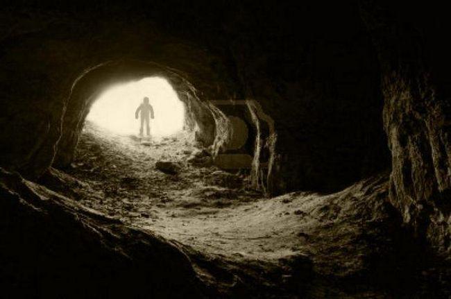 міф про печеру платона стисло