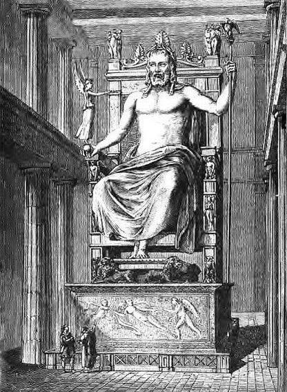 короткий міф про Зевса