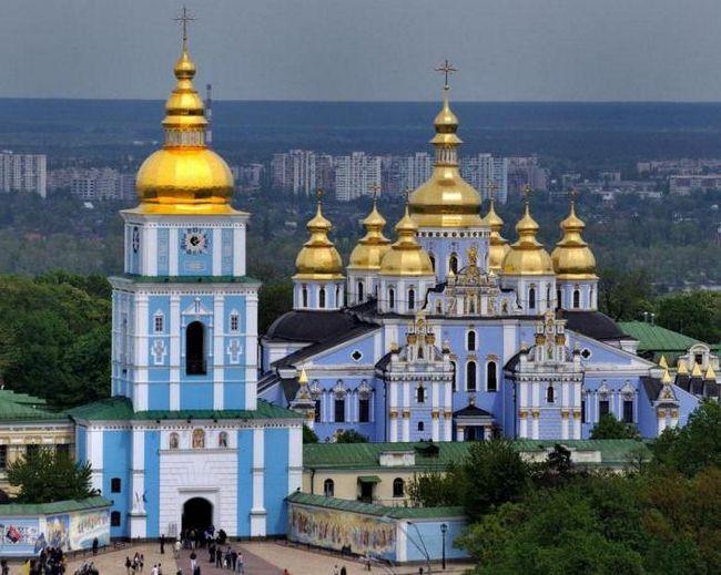 Фото - Михайлівський Золотоверхий монастир: опис, історія, оформлення, фрески і мозаїки
