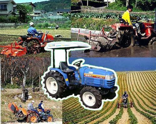 Фото - Міні-трактори: японські технології в наших умовах