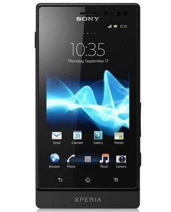 Sony Xperia Sola MT27i Black характеристики