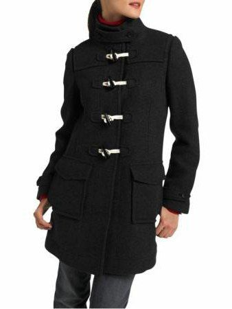 молодіжне пальто з капюшоном