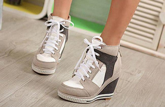 як називаються кросівки на високій підошві