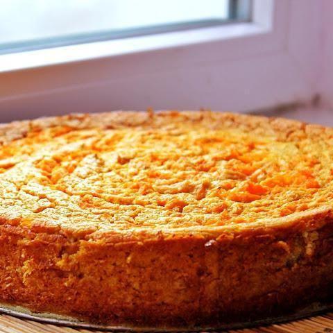 морквяно сирна запіканка в духовці рецепт з фото