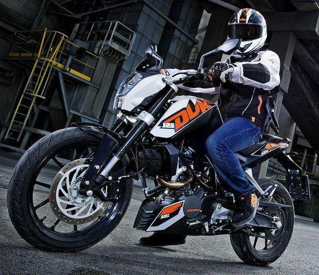 KTM Duke 125 відгуки