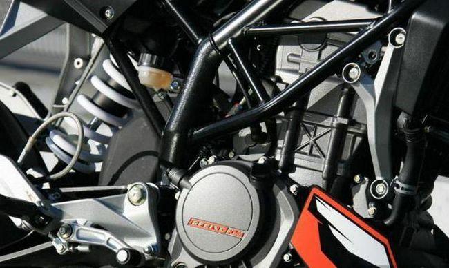 KTM Duke 125 технічні характеристики