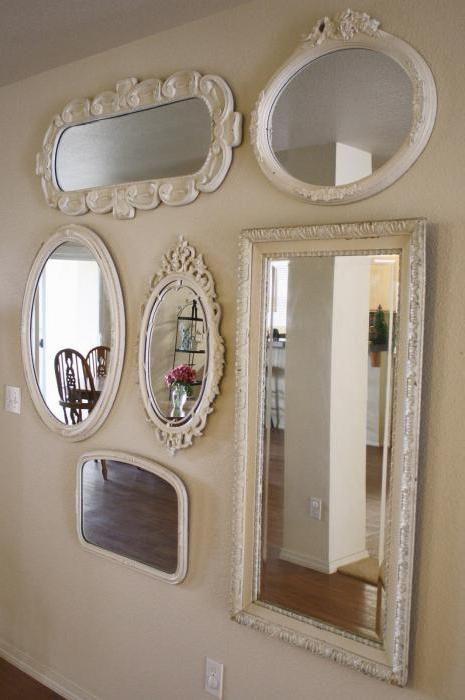 як правильно повісити дзеркало