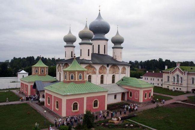 Чоловічий Тихвинський Богородичний Успенський монастир