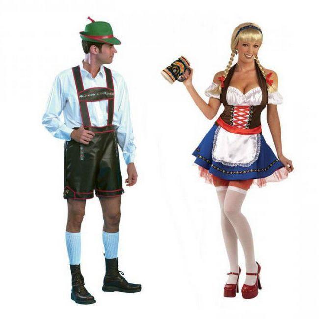 національний німецький костюм для жінок