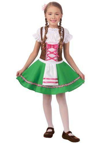національний німецький костюм для дівчинки фото