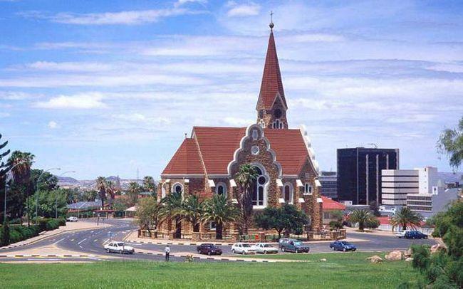 столиця країни намібія