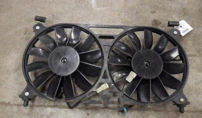 Вентилятор охолодження Нива