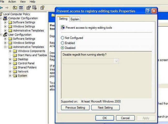 regedit не починається windows 10