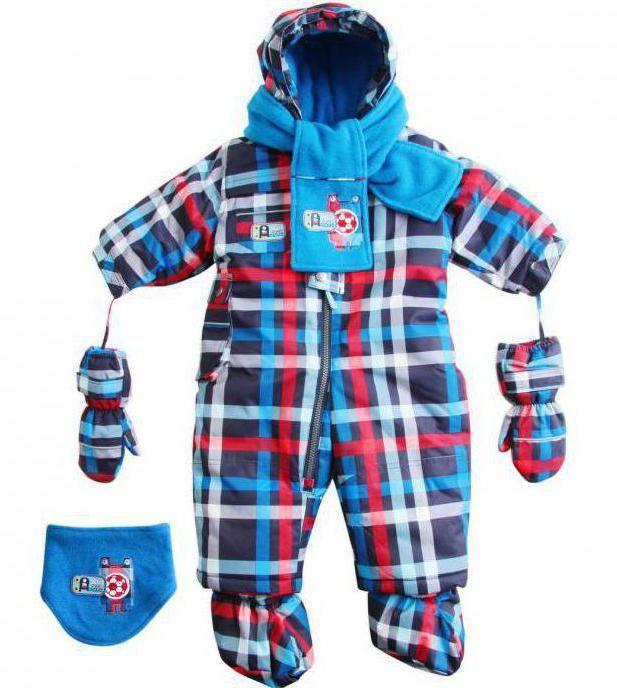 Зимовий комбінезон Deux par deux для малюків