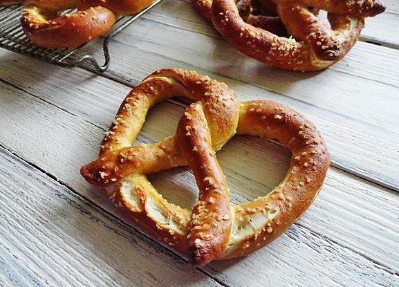 рецепт приготування баварського Брецель
