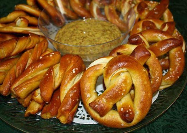 брецель рецепт німецького кренделі