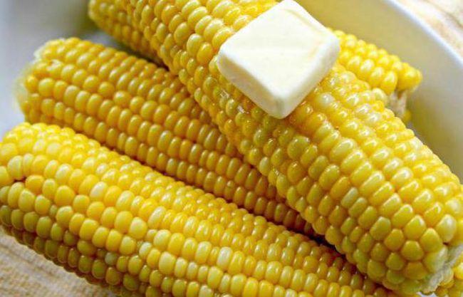 кукурудза калорії