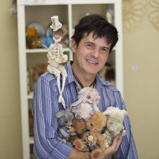 Фото - Микола Павлов: біографія і творчість. Авторські ляльки ручної роботи