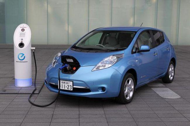 ніссан електромобіль ціна
