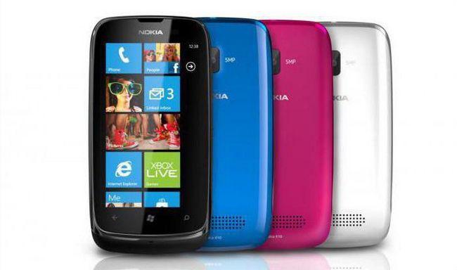 Фото - Nokia 610: опис телефону, характеристики, огляд та відгуки
