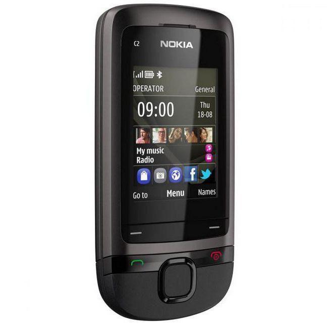телефон nokia c2 05