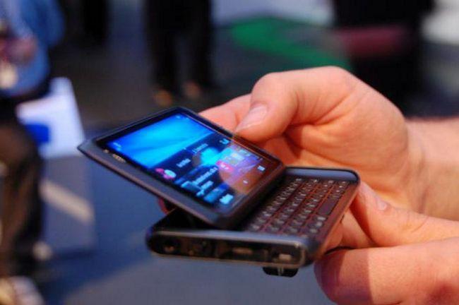 мобільний телефон nokia е7